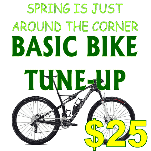 Bicycle Tune Up >> Spring Bike Tune Up Sports World Nevada